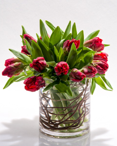 Red Promise in New York NY, Starbright Floral Design