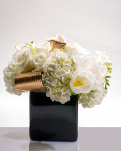 White Gold in New York NY, Starbright Floral Design
