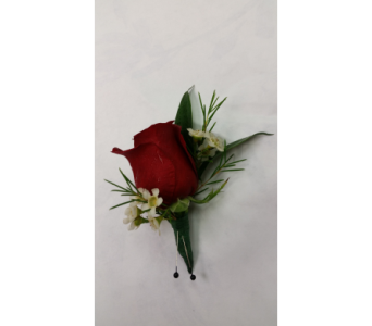 Red Rose Boutonniere in Rockledge PA, Blake Florists
