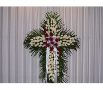 Standing Cross 1 in Yonkers NY, Hollywood Florist Inc