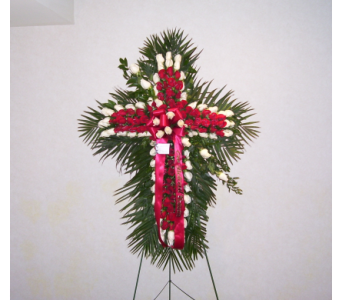 Standing Cross 2 in Yonkers NY, Hollywood Florist Inc