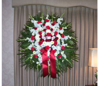 Standing Spray 1 in Yonkers NY, Hollywood Florist Inc