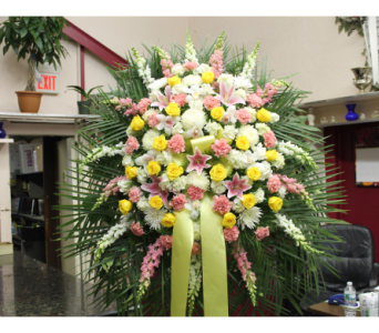 Standing Spray 8 in Yonkers NY, Hollywood Florist Inc