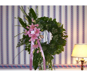 Standing Wreath 1 in Yonkers NY, Hollywood Florist Inc