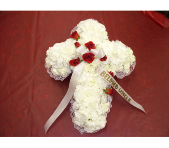 Casket Cross 1 in Yonkers NY, Hollywood Florist Inc