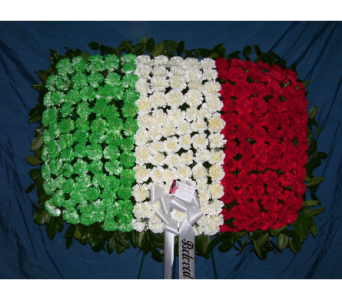 Italian Flag in Yonkers NY, Hollywood Florist Inc