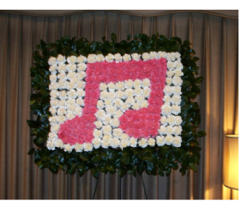 Musical Note in Yonkers NY, Hollywood Florist Inc