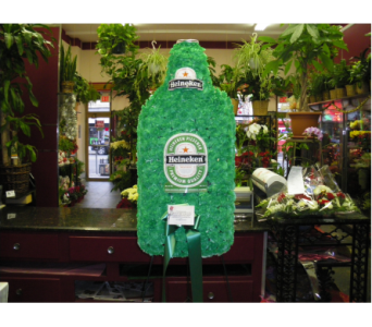 Beer Bottle in Yonkers NY, Hollywood Florist Inc