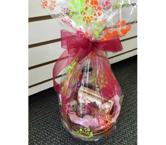 Black Honey Gift Basket in Sitka AK, Bev's Flowers & Gifts
