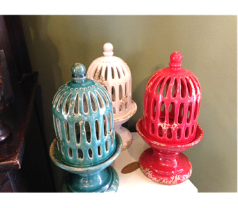 Ceramic Candle Holder in Fayetteville GA, Our Father's House Florist & Gifts