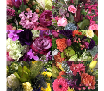 Best and Freshest of the Season, Lush Compact  in Napa CA, Beau Fleurs Napa Valley Flowers
