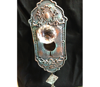 Metal Doornob Birdhouse in Fayetteville GA, Our Father's House Florist & Gifts