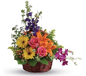 Cheerful Basket in Timmins ON, Timmins Flower Shop Inc.