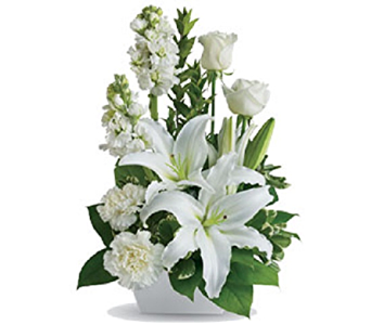 Simply White Table Design in Timmins ON, Timmins Flower Shop Inc.