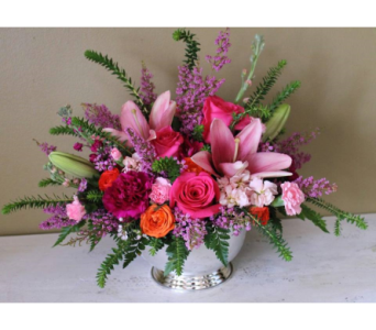 Spring's Blushing Beauty in Lawrenceville GA, Country Garden Florist