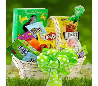 Easter Treats Basket in Indianapolis IN, George Thomas Florist