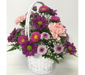 Pastel Princess Basket - Designed All-Around in Wyoming MI, Wyoming Stuyvesant Floral