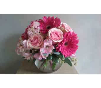 A Little Pink Me Up in Suwanee GA, Suwanee Towne Florist