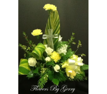 Divine Serenity  in Brentwood CA, Flowers By Gerry