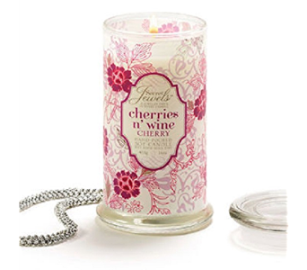Secret Jewel Candle-Cherry in Timmins ON, Timmins Flower Shop Inc.