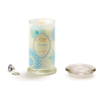 Secret Jewel Candle-Clean/Fr.Linen in Timmins ON, Timmins Flower Shop Inc.