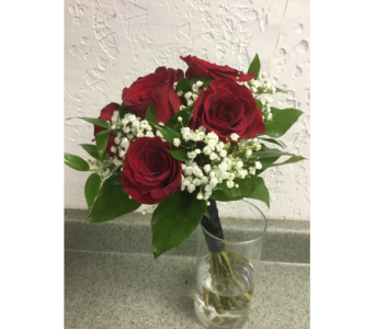 Prom Clutch Bouquet Roses in Bensalem PA, Just Because...Flowers