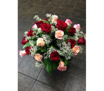 Two Dozen Roses in Carlsbad CA, El Camino Florist & Gifts