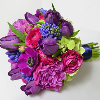 Flora Premium Hand-Tied Bouquet in Dallas TX, Dr Delphinium Designs & Events