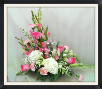 Pink Serenity Bouquet in Tyler TX, The Flower Box