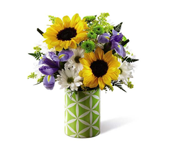 The FTD Sunflower Sweetness Bouquet in Elk Grove Village IL, Berthold's Floral, Gift & Garden