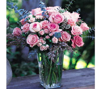 Pink Rose Profusion in New York NY, CitiFloral Inc.