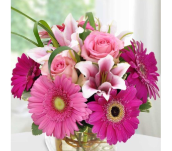 It's All About The Pink in Needham MA, Needham Florist