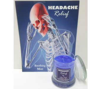 Headache Relief Candle in Timmins ON, Timmins Flower Shop Inc.