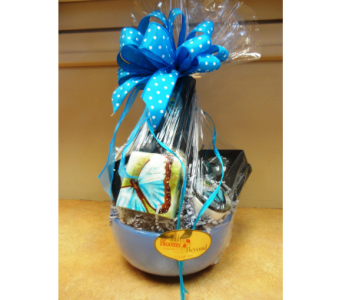 Butterfly Madness Gift Basket in Silvermill Plaza FL, Buds, Blooms & Beyond
