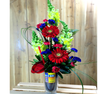 Old Bay Tumbler in Baltimore MD, Raimondi's Flowers & Fruit Baskets