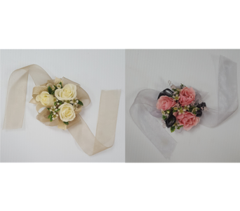 Wrist Corsages in Frisco TX, Patti Ann's Flowers