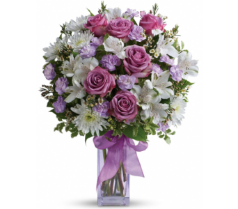 Lavender Laughter Bouquet in Norristown PA, Plaza Flowers