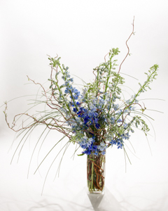 Blue Illuminations in New York NY, Starbright Floral Design