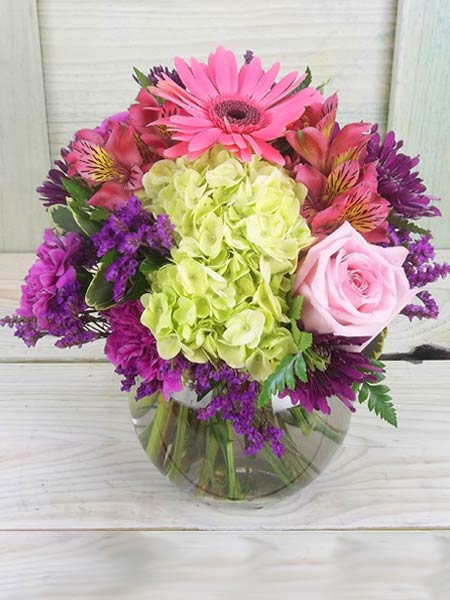 Happiness in Raleigh NC, Fallons Creative Flowers