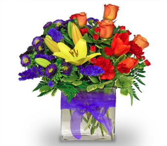 Wishing You A Rainbow by Nature Nook� in Cleves OH, Nature Nook Floral Center
