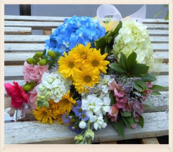 Beautiful Bunch Assorted Flowers in Skowhegan ME, Boynton's Greenhouses, Inc.