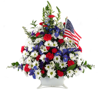 Salute to America Bouquet in Southfield MI, Thrifty Florist