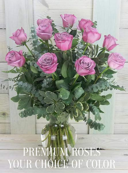 Single Color Premium Roses in Newport News VA, Pollards Florist