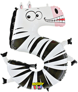 Zooloons� Megaloon� Number 5 Zebra in Guelph ON, Patti's Flower Boutique