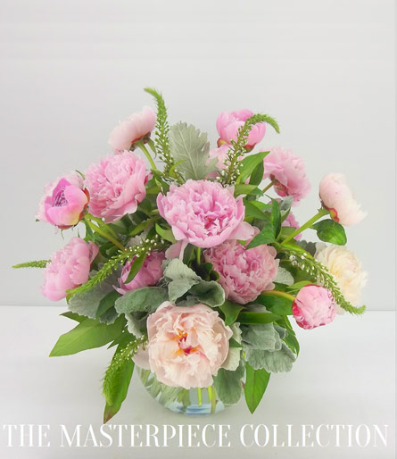 Pretty in Pink Peonies in Smithtown NY, James Cress Florist