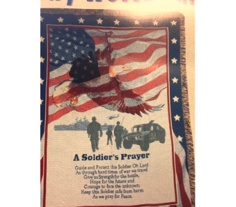 A Soldier's Prayer in Fayetteville GA, Our Father's House Florist & Gifts