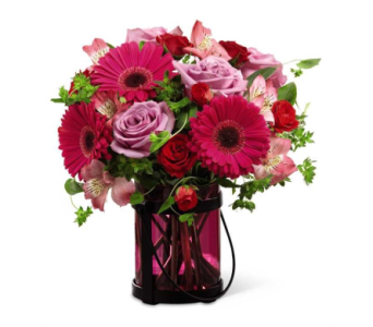 Pink Exuberance� Bouquet  in Watertown CT, Agnew Florist
