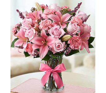 Expressions of Pink in Watertown CT, Agnew Florist