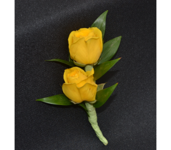 Sweetheart Roses Boutonniere in Zeeland MI, Don's Flowers & Gifts