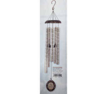 Windchime- Missed in Brownsburg IN, Queen Anne's Lace Flowers & Gifts